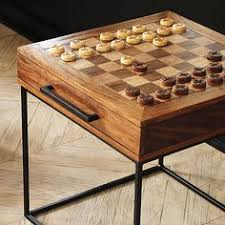 Chess Table And Chairs Game Table Chess Table And Chairs Cool House Ideas Pinterest