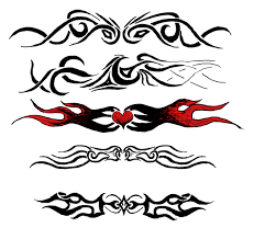 random armband tattoos by sileam on deviantart