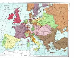 Western Europe Map by Europe On The Eve Of The French Revolution World Pinterest