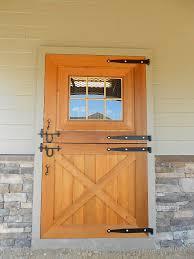 Cedar Barn Door Custom Pleasure Barn Precise Buildings