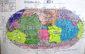 Map Of Tectonic Plates Dec 2011 Tectonic Map Jpg