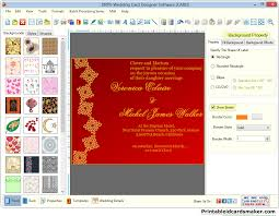 photo card maker wedding cards maker software designs colorful marriage invitation card