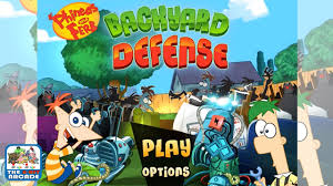 phineas and ferb backyard defense under attack from zombies