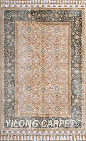 Area Rug Materials Yellow Rug Turkish Carpet Silk Rug Tabriz Rugs