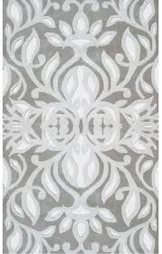 Silver Grey Rug Rug Market Style U0026 Grace 44258 Antionette Grey Silver White Area Rug