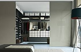 Small Bedroom With Walk In Closet Ideas L Shaped Light Brown Particle Board Small Walk Master Bedroom