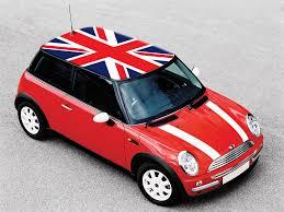 Car Bonnet Flags England Flag Flags On Mini Cooper Roof Pinterest