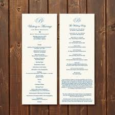customized wedding programs free funeral program templates selection of wedding program