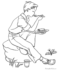 73 camping coloring pages images coloring