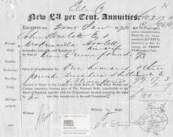 stock certificate abebooks