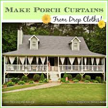 Outdoor Patio Curtain Make Your Own Outdoor Curtain Panels