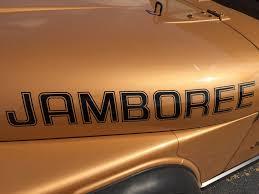 1982 jamboree parts paint