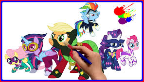 my little pony color book my little pony power ponies coloring book mlp coloring pages