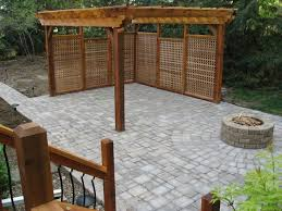 Patio Privacy Ideas Beautiful Decoration Patio Privacy Wall Spelndid How To Build An