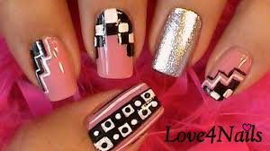 black u0026 white nail art designs nail art ideas