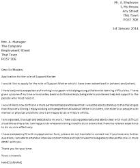 technical cover letter example manager cover letter example