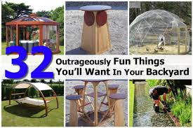 32 outrageously fun things you u0027ll want in your backyard
