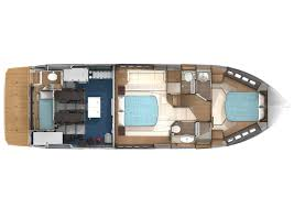 Yacht Floor Plan by 45 Fly Absolute Yacht Dynamic Compact And Sport Boat