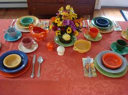 thanksgiving table favors handy man crafty woman fiesta ware thanksgiving table setting