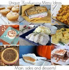 unique thanksgiving menu ideas the grant