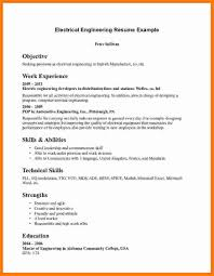 Network Engineer Fresher Resume Sample by Electrical Engineer Fresher Resume Sample Free Resume Example