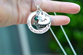 christian jewlery custom christian necklace jesus you are the king of my heart