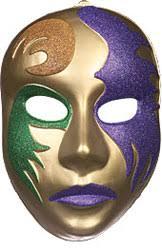 large mardi gras mask mardi gras pvc mask