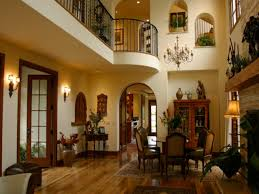 mediterranean style homes interior
