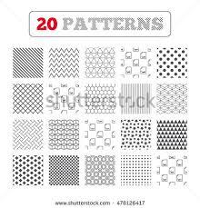 ornament patterns diagonal stripes stock vector