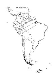South America Physical Map by America