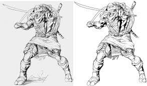 teenage mutant ninja turtles coloring pages leonardo contegri com
