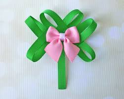 shamrock ribbon shamrock ribbon sculpture the hairbow center