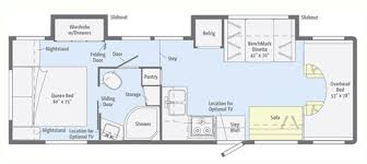 Winnebago Rialta Rv Floor Plans Itasca Motorhomes Floor Plans Itasca Impulse Impulse Silver