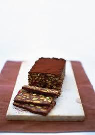 chocolate fridge cake with pecan and meringues recipe fridge
