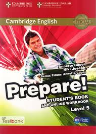 prepare 5 student u0027s book and online workbook with testbank capel