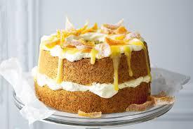 orange u0026 poppyseed chiffon cake