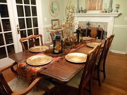 dining room table decorating ideas for fall christmas centerpiece