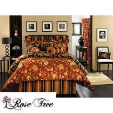 Rose Tree Symphony Comforter Set Crystal 6 Piece Comforter Set Overstock Com Shopping Great