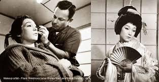 Westmore Cosmetics Shirley Maclaine Transforms Into A Geisha U2013 1961 Glamourdaze