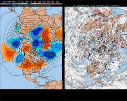 Jet Stream Map Atmosphere Why Does The Meandering Pattern Of The Jet Stream
