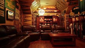 ultimate man cave the ultimate green bay packers fan cave youtube