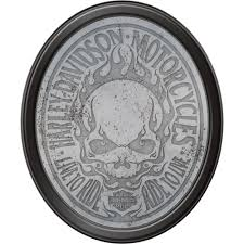 Harley Davidson Patio Lights by Harley Davidson Flaming Skull Mirror Www Kotulas Com Free Shipping