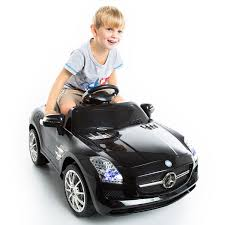car toy for kids costway black mercedes benz sls r c mp3 kids ride on car electric