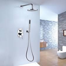 Bathroom Shower Valves Wall Mount Brass Mixer Valve Handheld Bathroom Shower