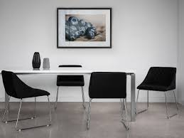 sedie per sala pranzo sedia per sala da pranzo nero arcata beliani it