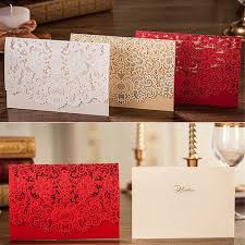 White And Gold Wedding Invitation Cards Aliexpress Com Buy 1pcs High Quality Embossment Wedding