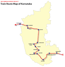 Gujarat Map Blank by Train Map Karnataka U2022 Mapsof Net
