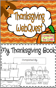 thanksgiving webquest printable booklet thanksgiving social