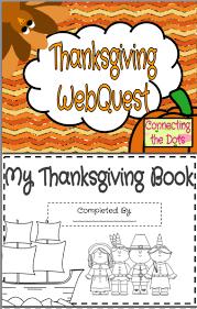 thanksgiving webquest printable booklet best thanksgiving ideas