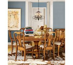 Pottery Barn Dining Room Sets Pottery Barn Dining Chairs Pottery Barn Lorraine Pedestal Table